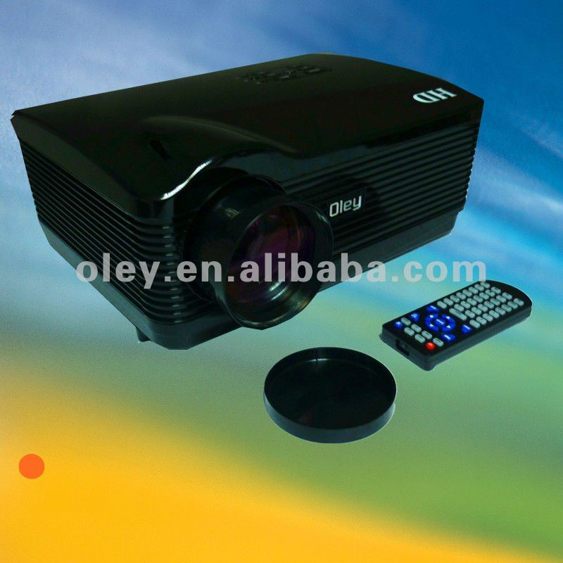 led projector 1280*768 usb input/ tv tuner built in 3*hdmi