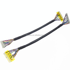 30 pin lcd/lvds cable for Samsung(JAE FI-X30H & Dupont 2.0)