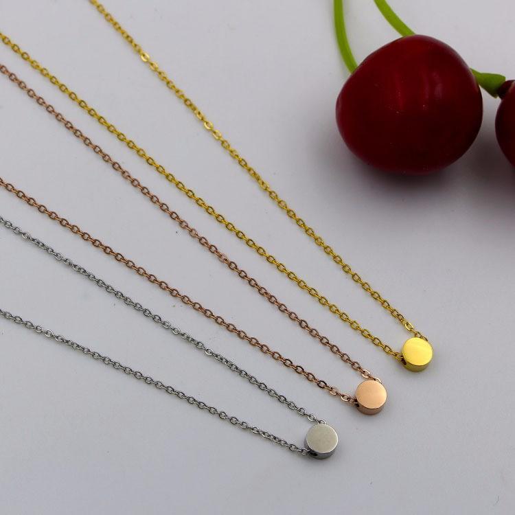 Sjylm05 Simple Design Fashion Korea Style 316 Stainless Steel Women ...