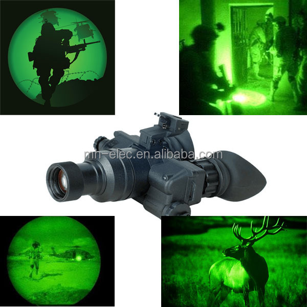 Military army night vision goggles with long range detection
