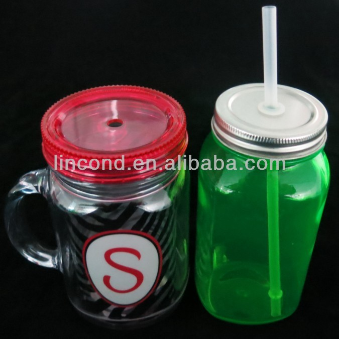 Mason Jars With Plastic Or Tin Lid