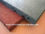 Anti-slip fitness basement rubber flooring