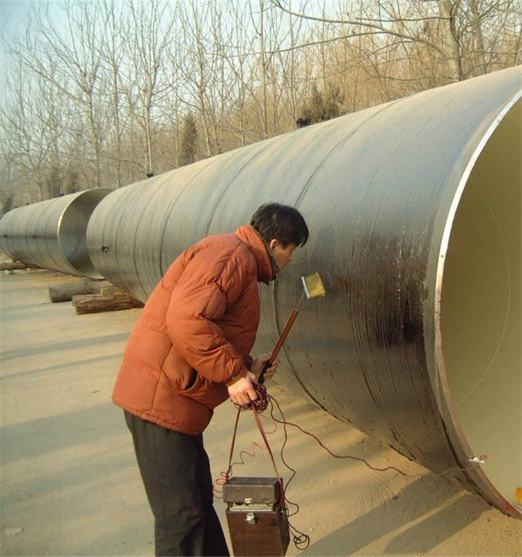 Coal Tar Pipe : Coal tar epoxy corrosion prevention coating for winter use