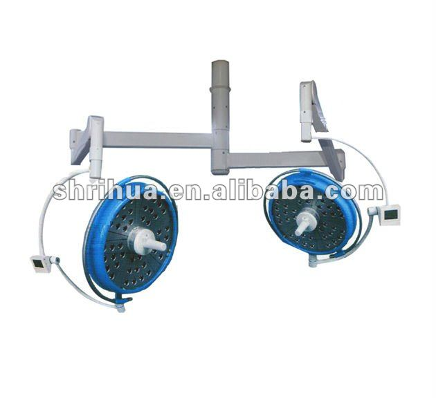 ISO CE approved High qualtiy with electric light focus function RH700/700-TV LED surgical lamp