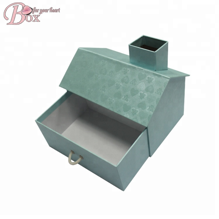Büro-und Home-House-Shaped verwendet Desktop Pen Stationery Holder