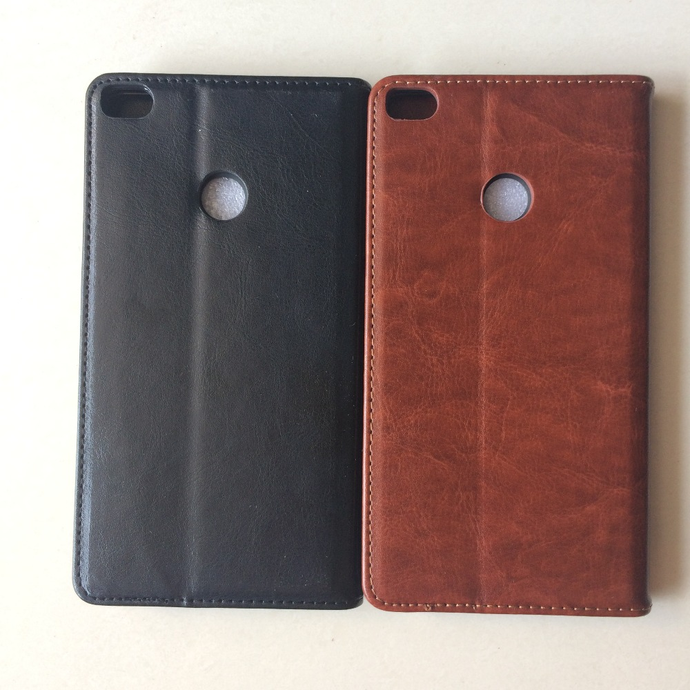 Premium quality leather wallet phone case Correct fit for xiaomi <strong>max</strong> 2 magnetic holster