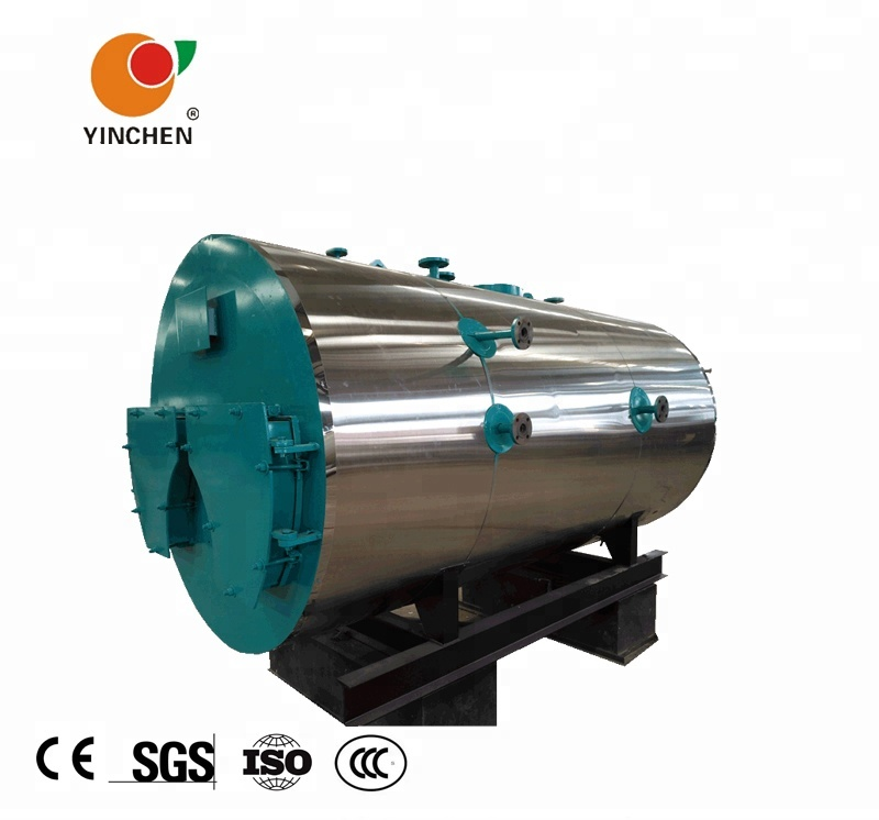 Yinchen WNS Smoke Tube Gas Oil fired 1500kg Stream Boiler Manufacturers