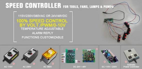 Router Speed Control Gleichstrommotor Drehzahlregler Einphasen