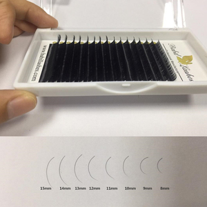 Hot selling classic eyelash extensions cheap factory price silk mink eyelashes
