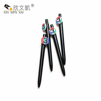 Cute Design Cartoon Soft PVC Plastic Pen With Special Clip