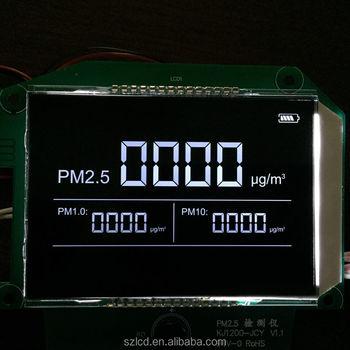 Air Cleaner Lcm Module Medical Equipment Black Background Segment Va Lcd  Display - Buy Air Cleaner Lcm,Medical Equipment Display,Black Background Va