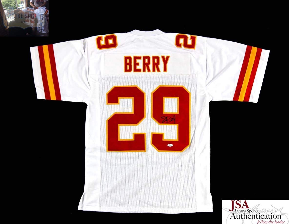 Get Quotations · Eric Berry Autographed Signed Kansas City Chiefs White Custom  Jersey 89ed8a7b4