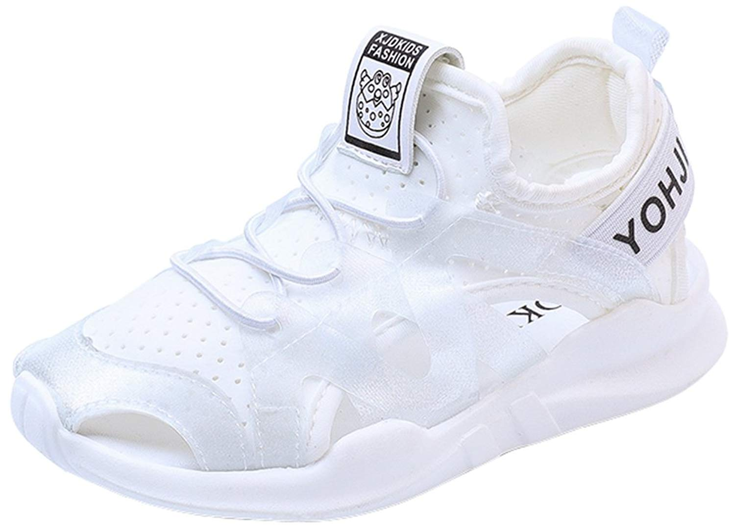 VECJUNIA Boys Girls Sports Shoes Athletic Sneakers Outdoor Running