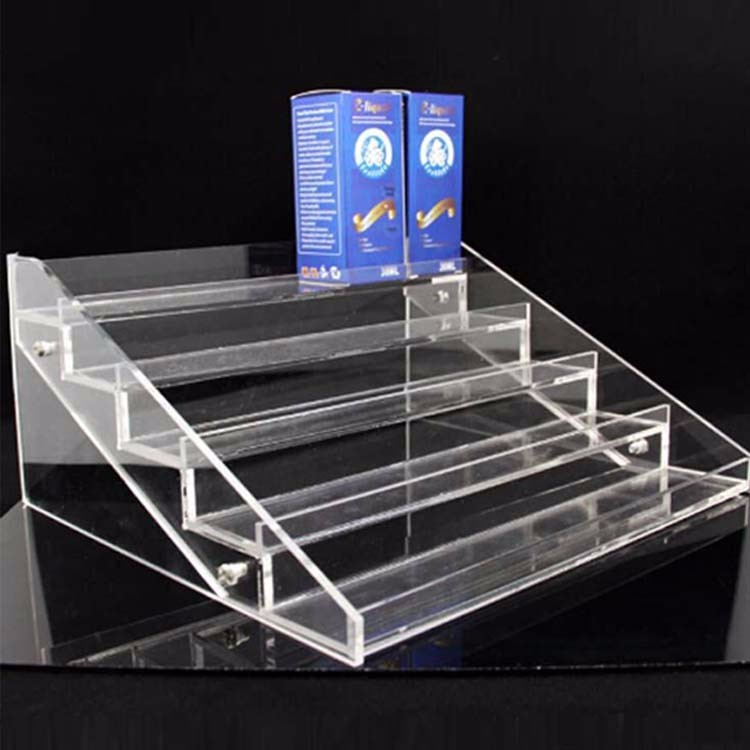 Acrylic glass bakery cake display rack case and showcase counter