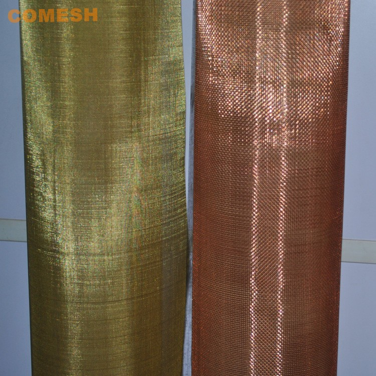 "One  4/"" x 4/"" bronze screen 14x18 mesh .011/"" wire 90/% copper 10/% zinc new"