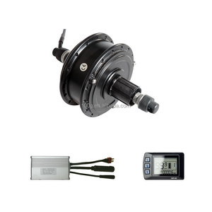 "26""x1.75"" Rear Wheel Electric Bicycle Motor Kit 36V 250W Bicycle Cycling Engine Dual Mode Controller"
