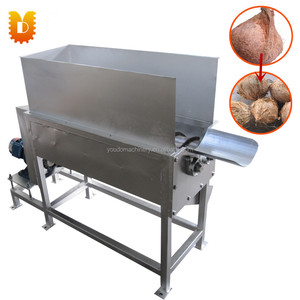 Automatic Dry Coconut Peeling Machine/Old Coconut Dehusking Machine