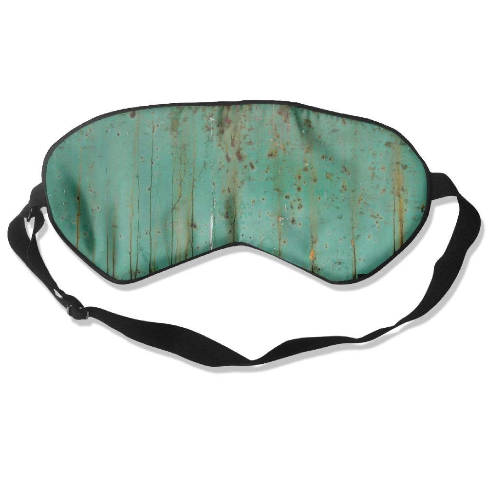 Madge Kelley Eye Mask Adjustable-Strap Eyeshade Sleeping Mask Skin-Friendly Forest Painting Dark Night Sleep Travel