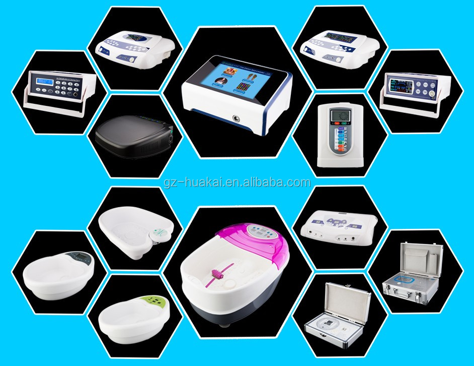 Factory Hot Selling Chi Ion Ionic Detox Foot Bath Cleanse Aqua Spa ...