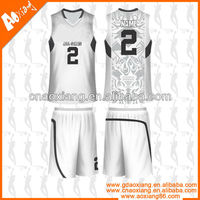 JB064 vintage warm up basketball uniforms