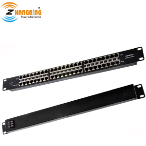 Rack mount Passive 10/100 Mbps 24 port PoE Injector Patch Panel for CCTV Security IP Camera,VOIP, WiFi AP