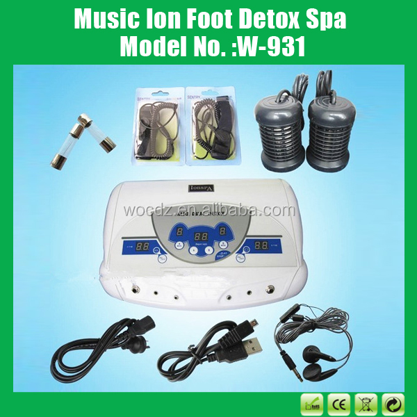 Ion Spa Mp3 Dual Detox 2 Array Two Person Home Use Cell Detox ...