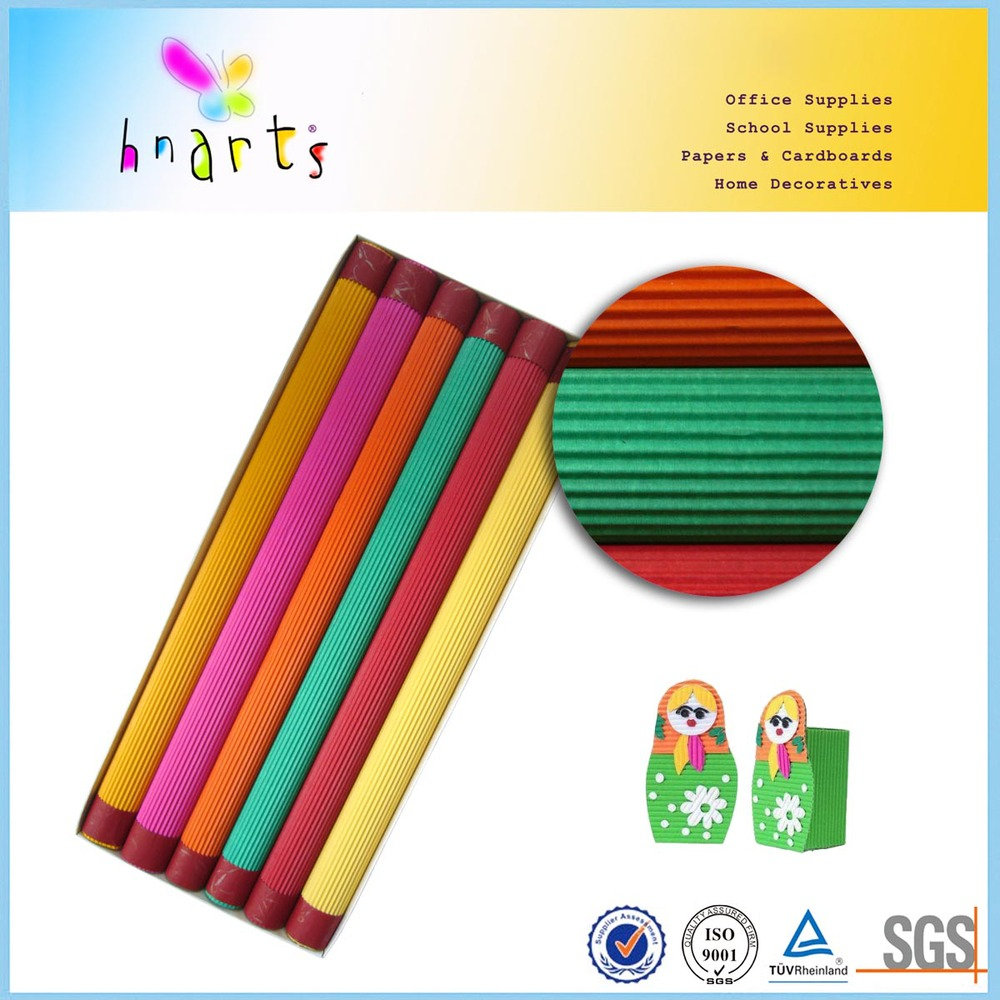 Large Size Colored Corrugated Cardboard Sheet For Craft