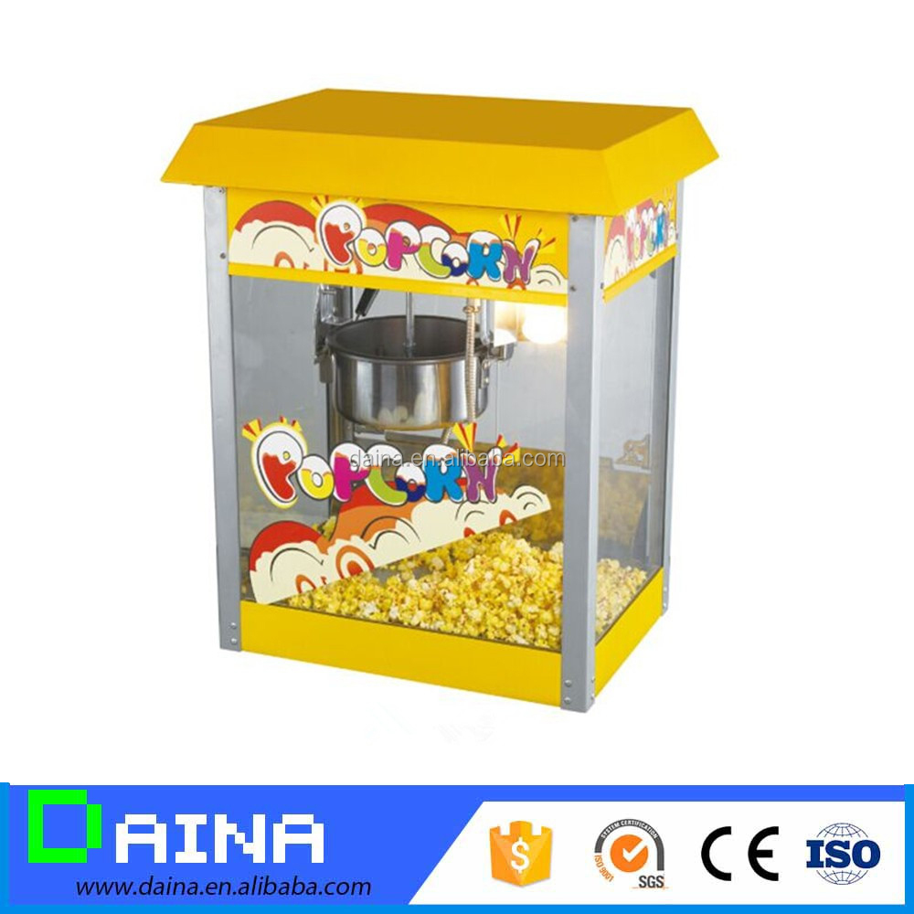 Trade Assurance! Mini Popcorn Maker machine with Hot Air make popcorn