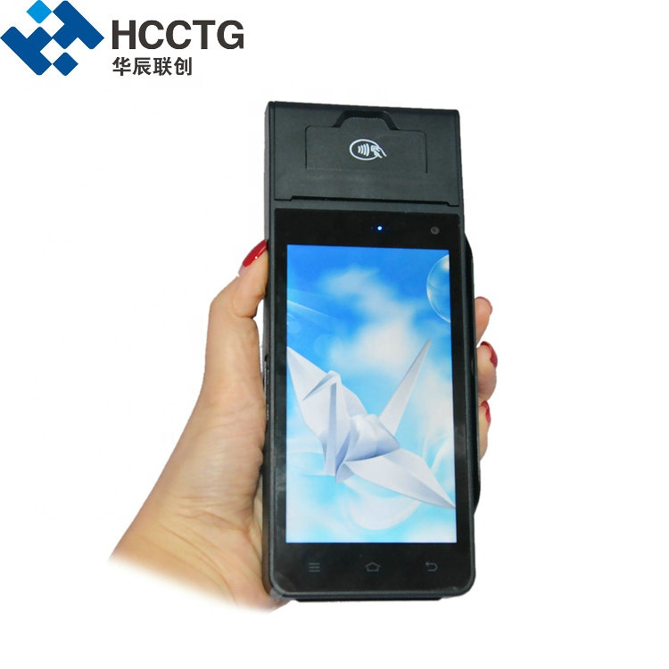 Restaurant Smartphone Touch Screen Android Edc Smart POS Terminal With SIM Card HCC-Z90