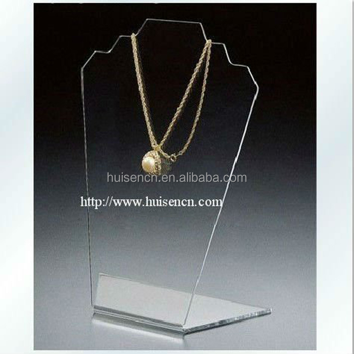 Transparent China Supplier Acrylic Necklace Stand