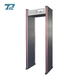 walk through metal detector TEC-300 detect gun, knife and bomb