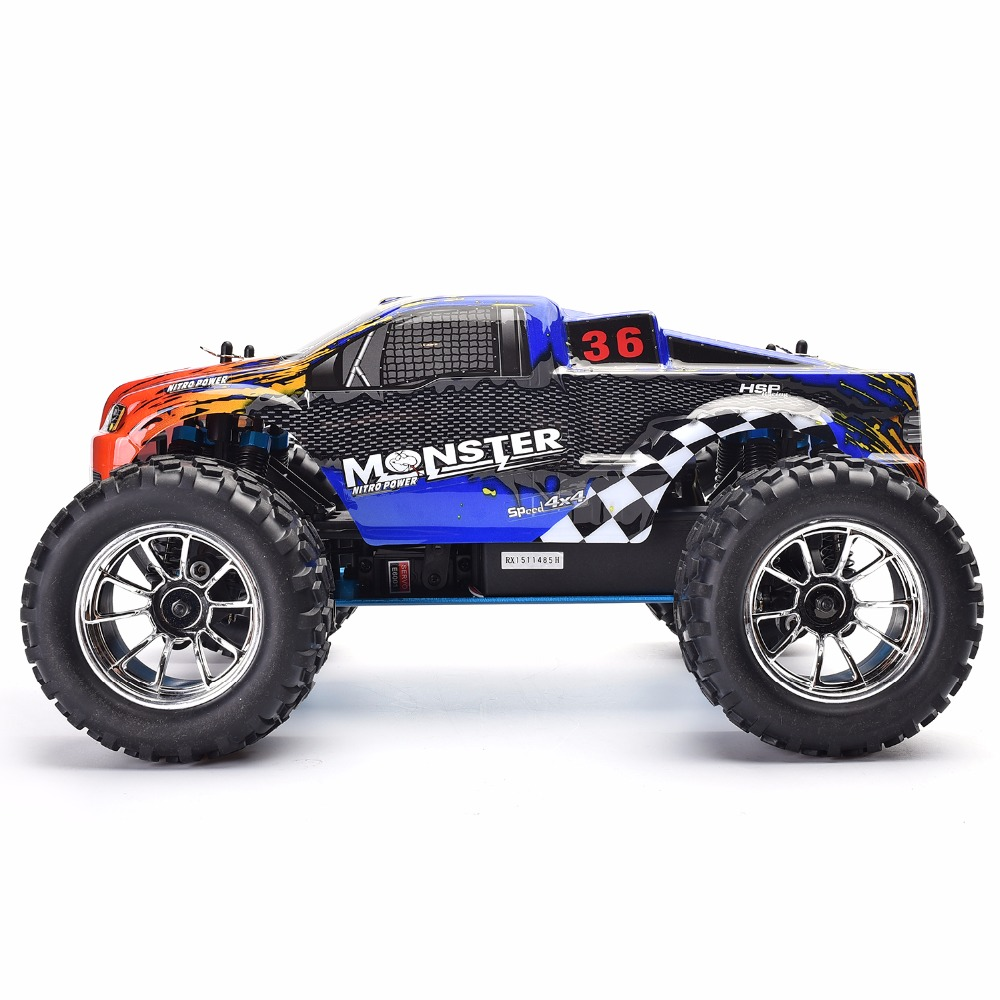Hsp Rc Truck Nitro Gas Power Off Road Monster Truck 94188: Popular 1 8 Scale Nitro Rc Trucks-Buy Cheap 1 8 Scale