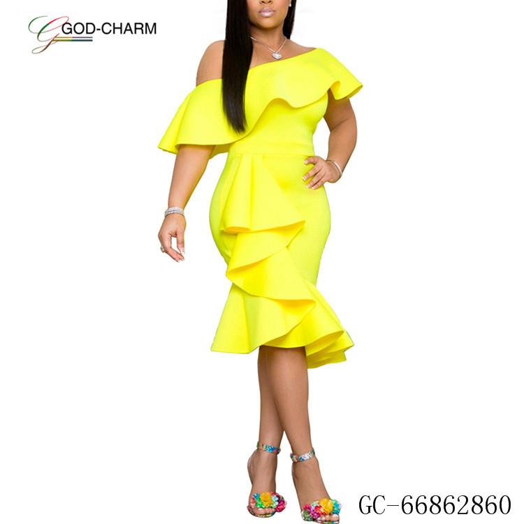 * GC-66862860 2020 Новое поступление оптовая цена по прейскуранту завода Прибытие Bestsale сексуальные женские вечерние элегантные длинные платья вечернее платье