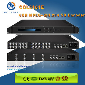 Colable 8 in 1 RTMP UDP A/V SDI SD HD Encoder/Encoder SDI to IP