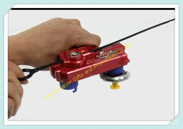 Free Shipping Beyblade Double Tops New Launcher For Beyblade Metal Fusion Spinning Top Toys Red Blue
