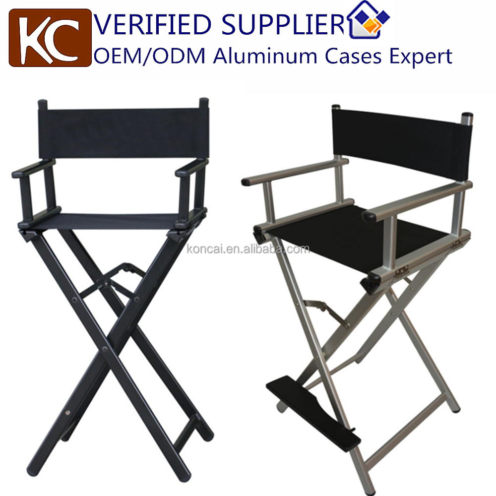 folding metal directors chairs. kc-ch01l professional folding aluminum metal makeup director chair directors chairs