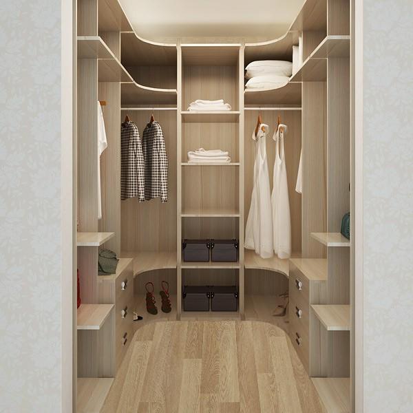 Australia Project Custom Design Open Clothes Wardrobe Cabinet ...