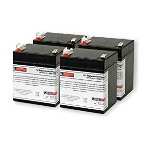 12V 5AH F2 UPS Replacement Battery Set for Minuteman E 1100, E1100