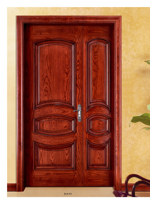Rockport 5 panel raised primed moulded solid core mdf wood interior doors slabs