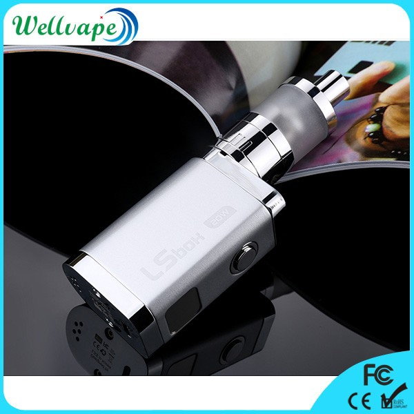 In stock ceramic wick 1100mAh battery Lsbox 20W e cigarette hong kong