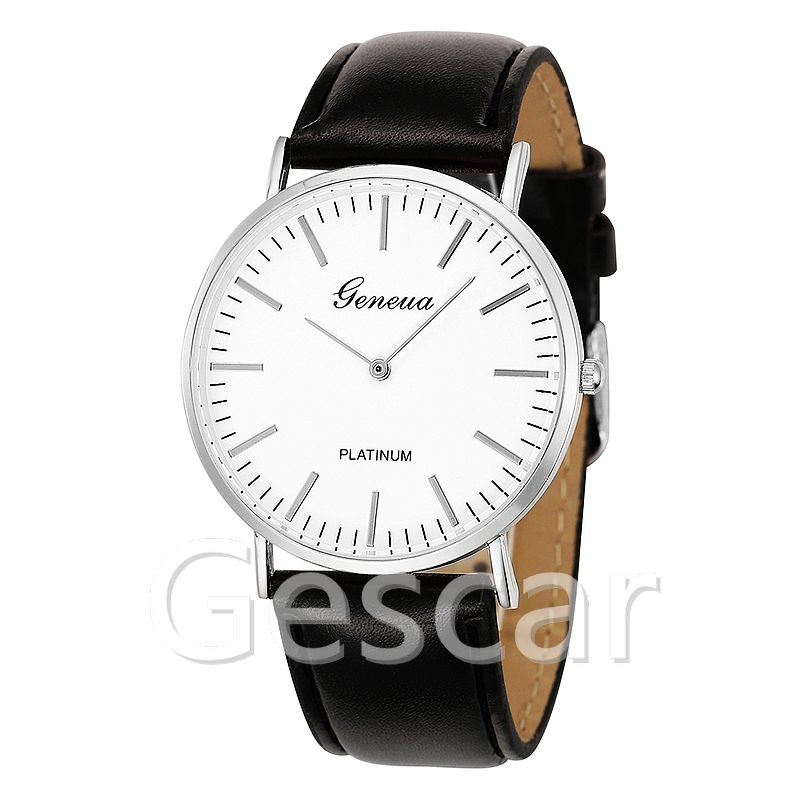 fashion top brand two pointer leather strap casual wristwatch no crystal wrap geneva quartz watcheswatch ladies