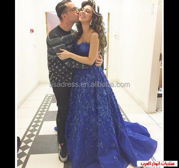 Myriam fares robe soiree