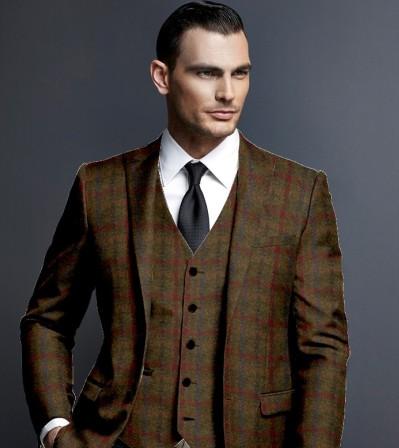 harris tweed coats for men