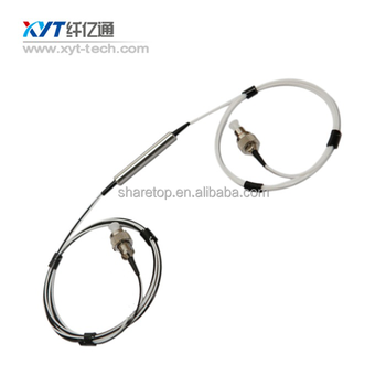 1310nm or 1550nm Dual Stage Polarization insensitive optical isolator with SC/FC/LC/ST Connector for Fiber Amplifier/CATV