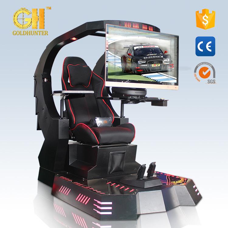 2017 Newest Virtual Reality Car Racing Machine Crazy Vr