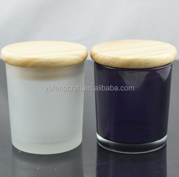Black Candle Jar With,Frosted Glass Candle Jar With - Buy Black ...