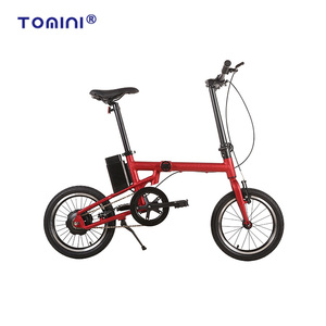 Folding electric bike 16inch 36v 180w foldable e bicycle bestseller ebike used in city