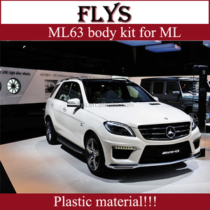 ML63 body kit FOR ML350 ml-class auto parts for W166   Plastic  material!!!Factory Price!!!