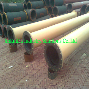Rubber Lined Pipe Wear 65 Shore Hardness Rubber Lining No.1