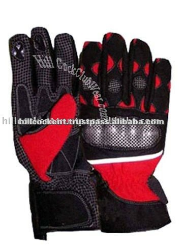Motorbike Gloves HCE-2018,Motorbike Carbon Kevlar Race Sports Leather Gloves e